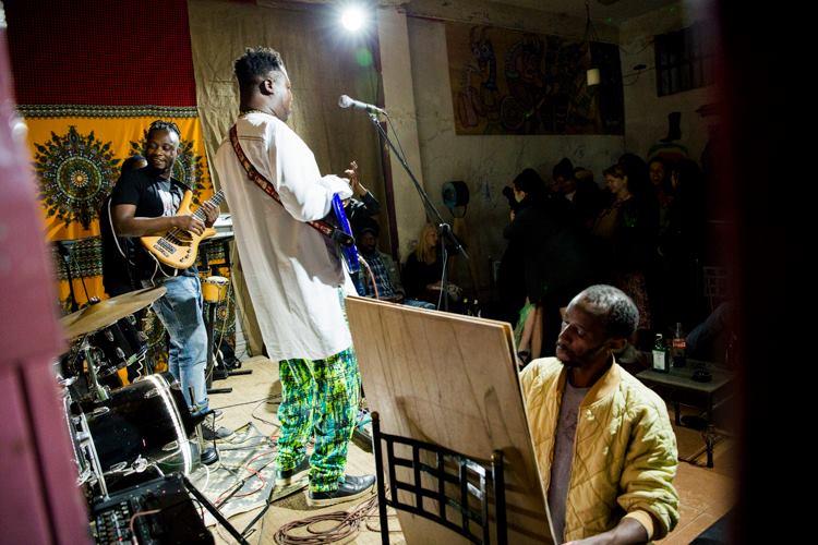 Live Music in Nairobi -- Dagoz