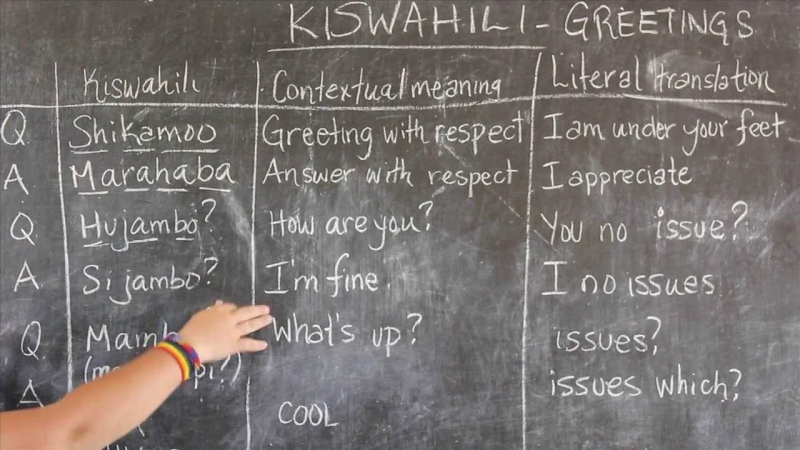 swahili words