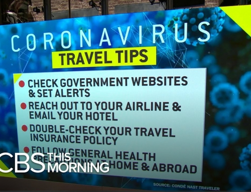 Coronavirus Travel Tips: To Fly Or Not?